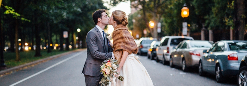 Samantha and Paul's Romantic Fall wedding at The Goethe Institut