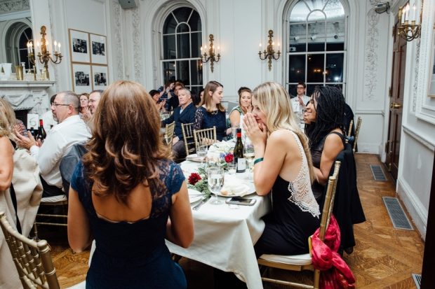 Samantha and Paul's Glamorous Wedding at The Goethe Institut