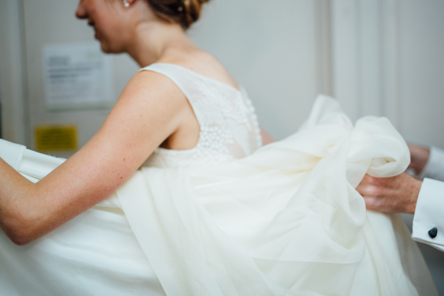 Samantha and Paul's Elegant Fall Wedding at The Goethe Institut