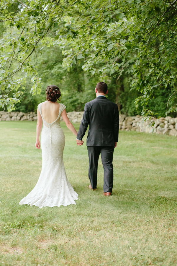 Ky and Joe's Rustic Sunflower Wedding at Bittersweet Farm on The Newport Bride
