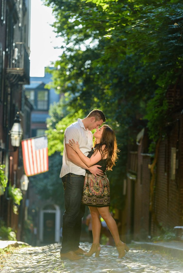 Downtown Boston Engagement Session on The Boston Bride Bridal BlogDowntown Boston Engagement Session on The Boston Bride Bridal Blog