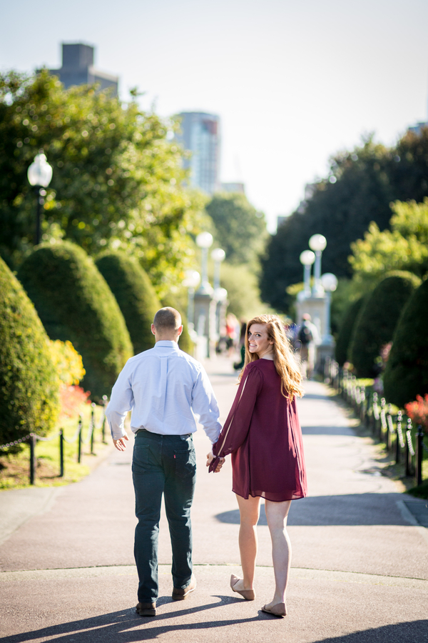 Leah and Jake's Boston E-Sesh on The Boston Bride a Local Wedding Blog