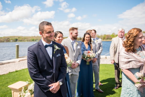 Suzanne and Erik's Mystic Connecticut Latitude 41 Wedding on The Newport Bride