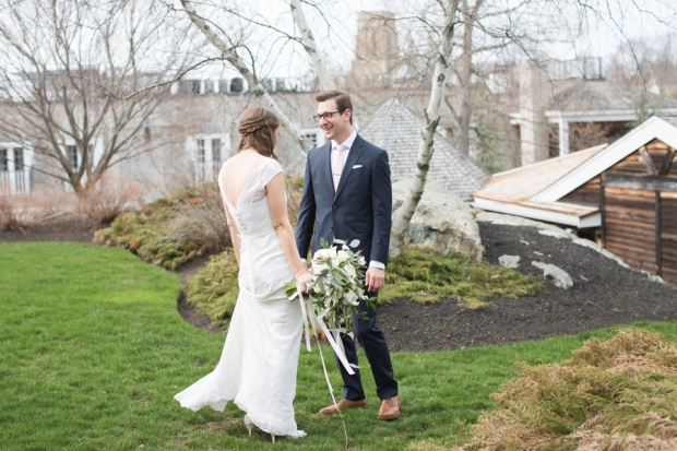 Brianne and Scott's Refined Bohemian Red Lion Inn Wedding on The Boston Bride