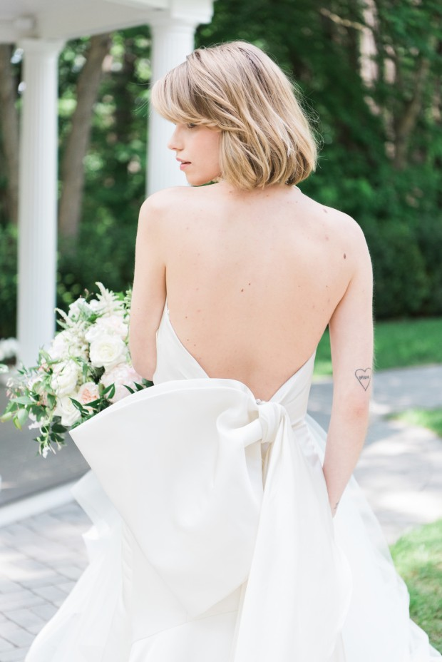 Double Bridal Inspiration at the Lakeview Pavilion on The Boston Bride, a Massachusetts Wedding Blog