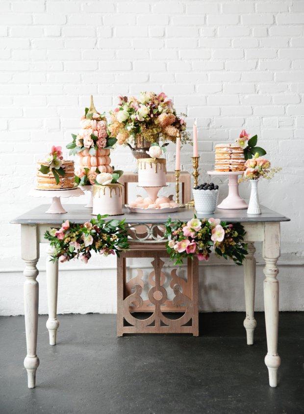 Parisian Brunch Bridal Inspiration on The Boston Bride